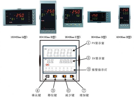 首页 电炉商城 电炉相关设备 电炉控制柜 虹润程序阀门温控器调节仪