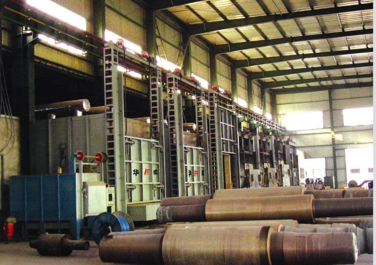 大型全纤维台车炉