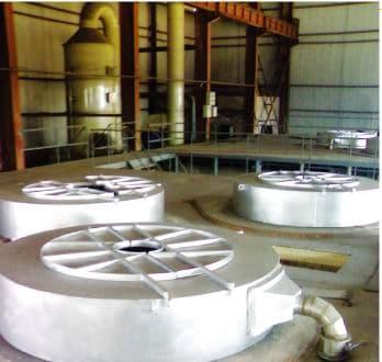镁合金精炼生产线